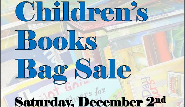 Children's Bag Sale - December 2nd