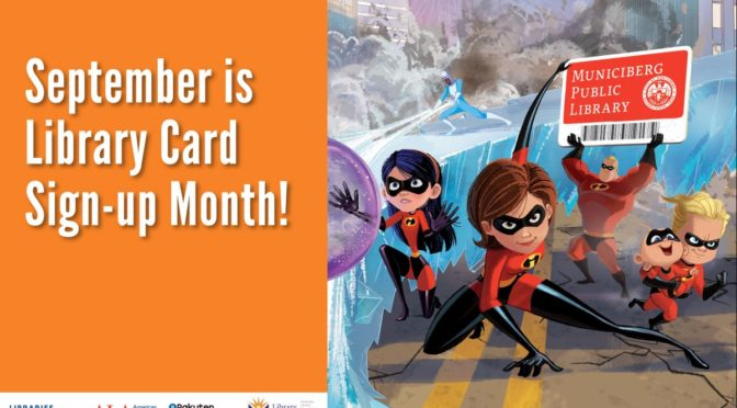 Sign-up for (or renew) your card!